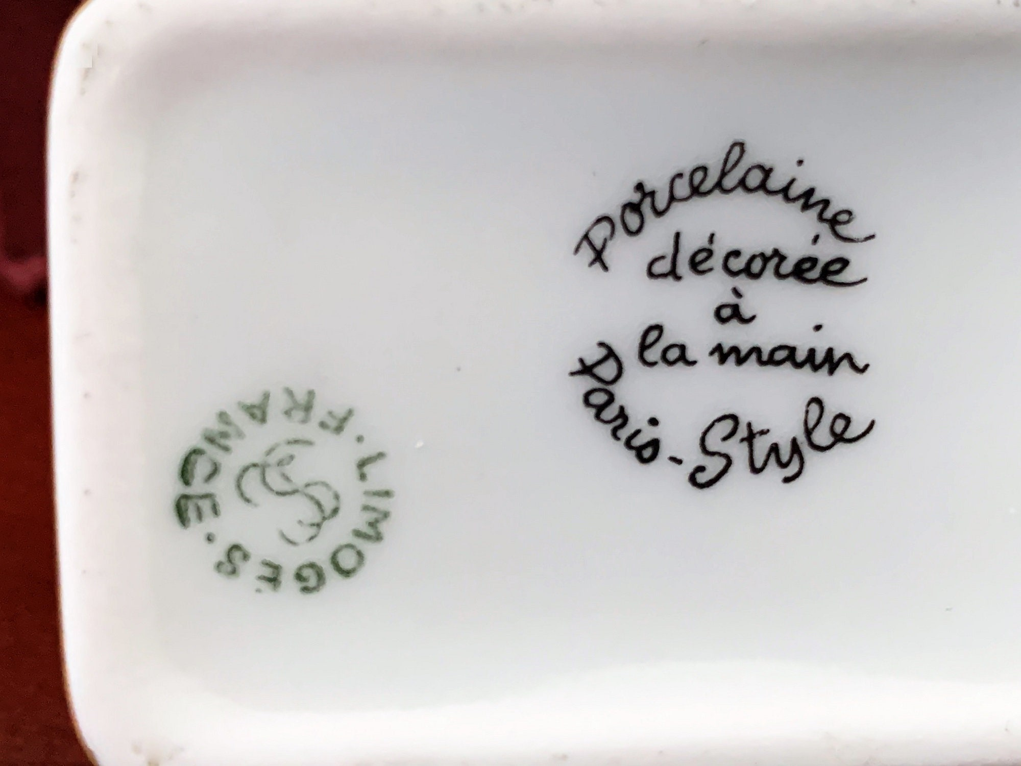 "10 Ruban Céramique Diamonte Hanging Heart plaque /""Ma fabuleuse ami/"" 11x12cm"