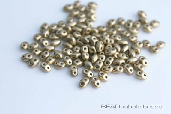10g Czech SuperDuo Twin Beads Crystal Jet Lined