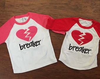 Heart Breaker Raglans