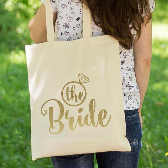 Tote Bag Bridal Shower Favors Tote Lady Butterfly Bridesmaid Gift Mothers Day Gift Personalized Canvas Tote Bag Bachelorette Party