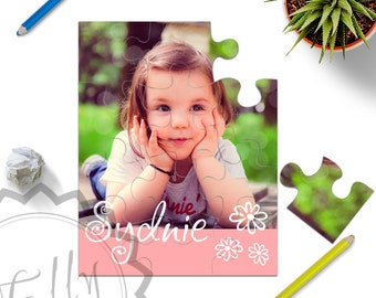 Personalized Photo Puzzle - Create Your Own Puzzle, Design With Your Photo, Custom and Unique Gift for Grandparents,  Friends and Kids - 018