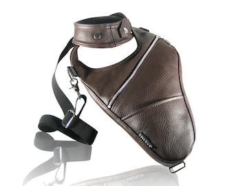 "Revolverbag ""LOUIS 2.0"" holster bag men bag halter men leather bag men leather shoulder holster backpack holster"