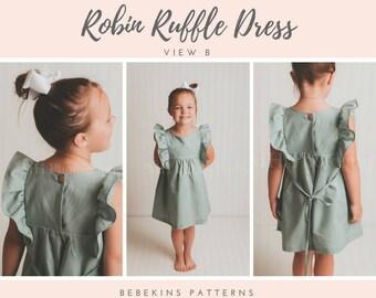 Robin Ruffle Dress