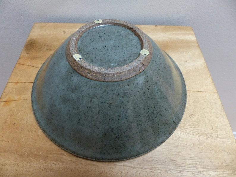 Artisan Studio Pottery Stoneware Bowl