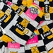 Rachel Hardy reviewed Cunt Sparkly Sweary Socks - Sweary Cat Socks - yellow Cat - Katie Abey Socks - Funny Socks - Glitter