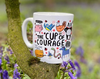 The Cup of Courage - Mental Health - Confidence boost - Anxiety - Get well - Self Care - Katie Abey