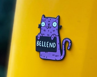 Bellend Fridge Magnet - Sweary Rainbow Cats - Magnet - Offensive Gift - Insult Gift - Swear gift - 3D Printed - Katie Abey