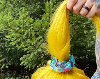 CATS - Hair Scrunchie - Katie Abey Exclusive Fabric - Hair Band - Dawnys Sewing Room