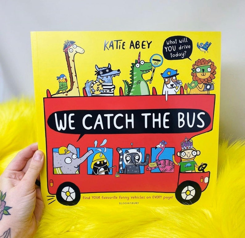 Signed Copy  We Catch the Bus Book by Katie Abey  Paperback image 0
