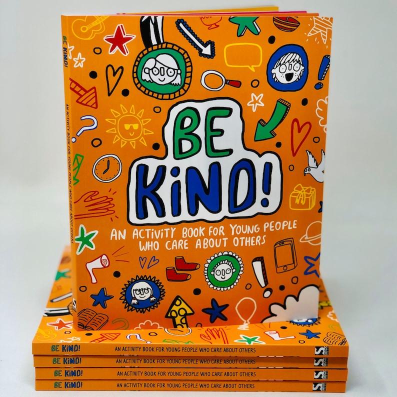 Be Kind Book  Illustrator Katie Abey  novel  kid's gift image 0