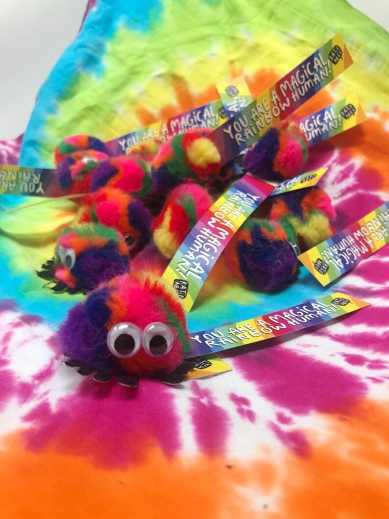 Rainbow Courage Fluff Mascot  Katie Abey  Pride Squish  image 0