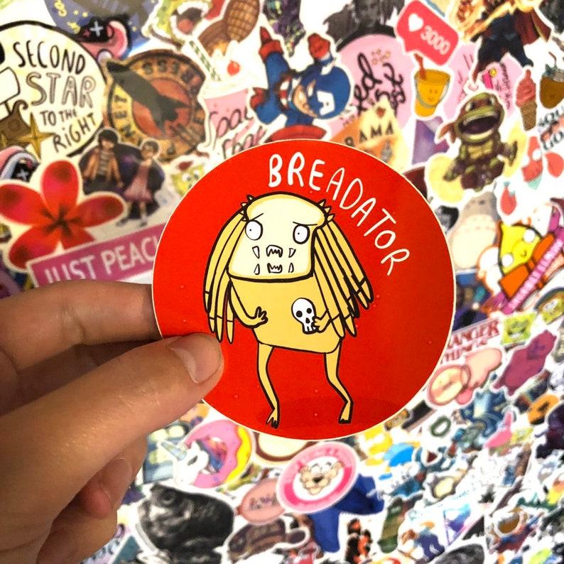 Breadator  Sticker  Katie Abey  Motivational  Positivity  image 0