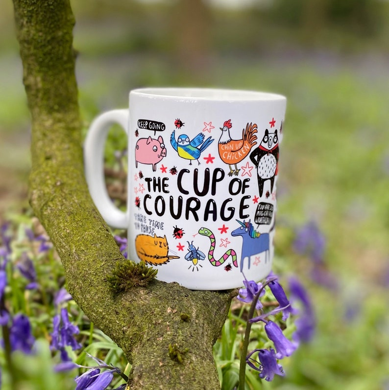 The Cup of Courage  Mental Health  Confidence boost  image 0