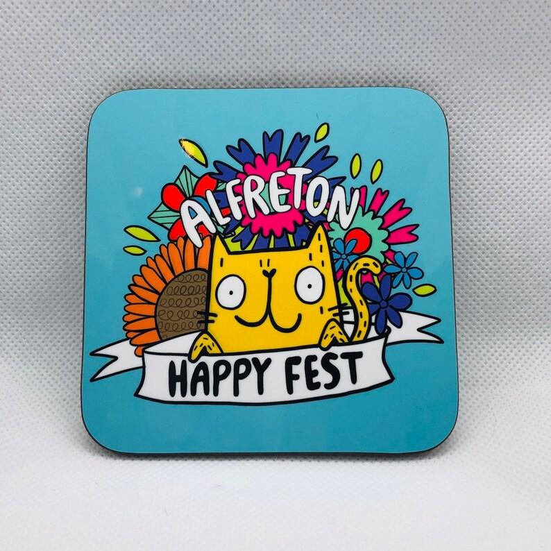 Happy Fest Coaster  Alfreton Happy Fest image 0