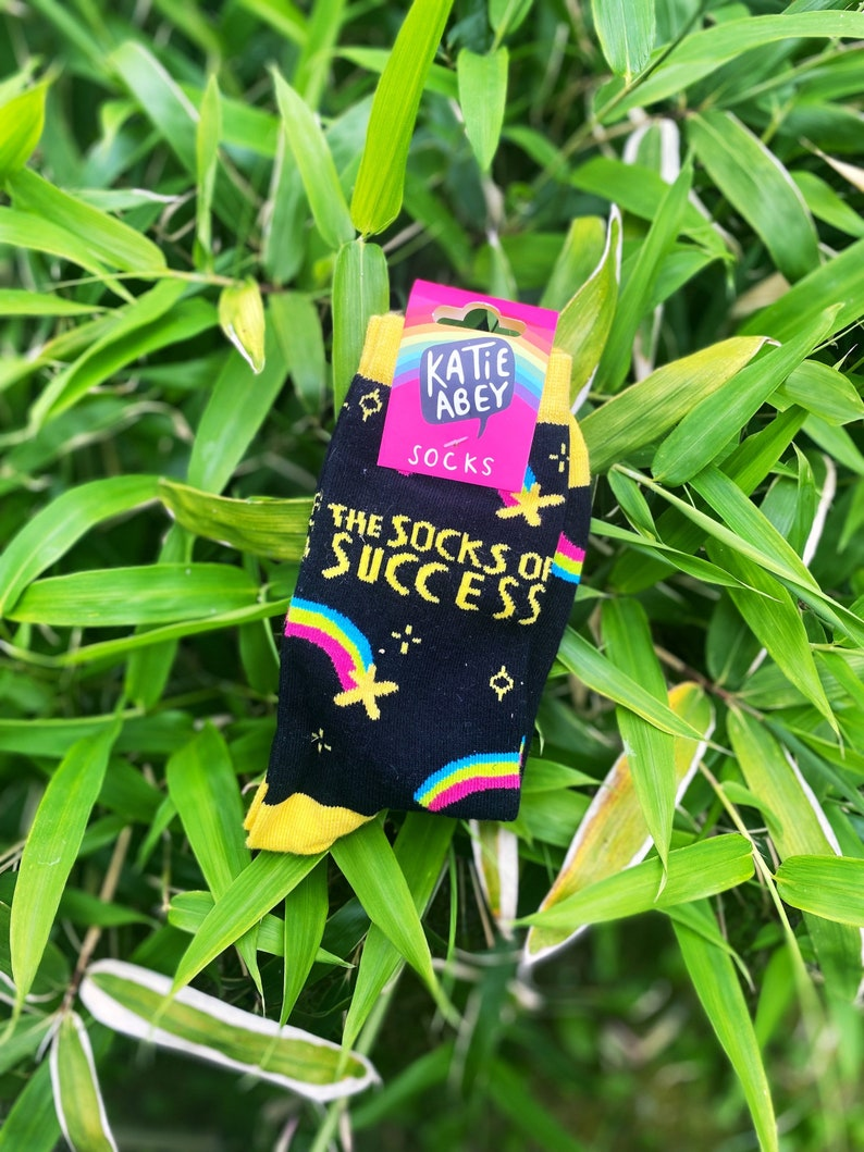 The Socks of Success  Colourful Socks  Katie Abey Socks  image 0