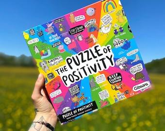 The Puzzle of Positivity - Rainbow Jigsaw - Katie Abey