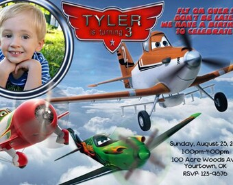 Disney Planes Invitation Digital