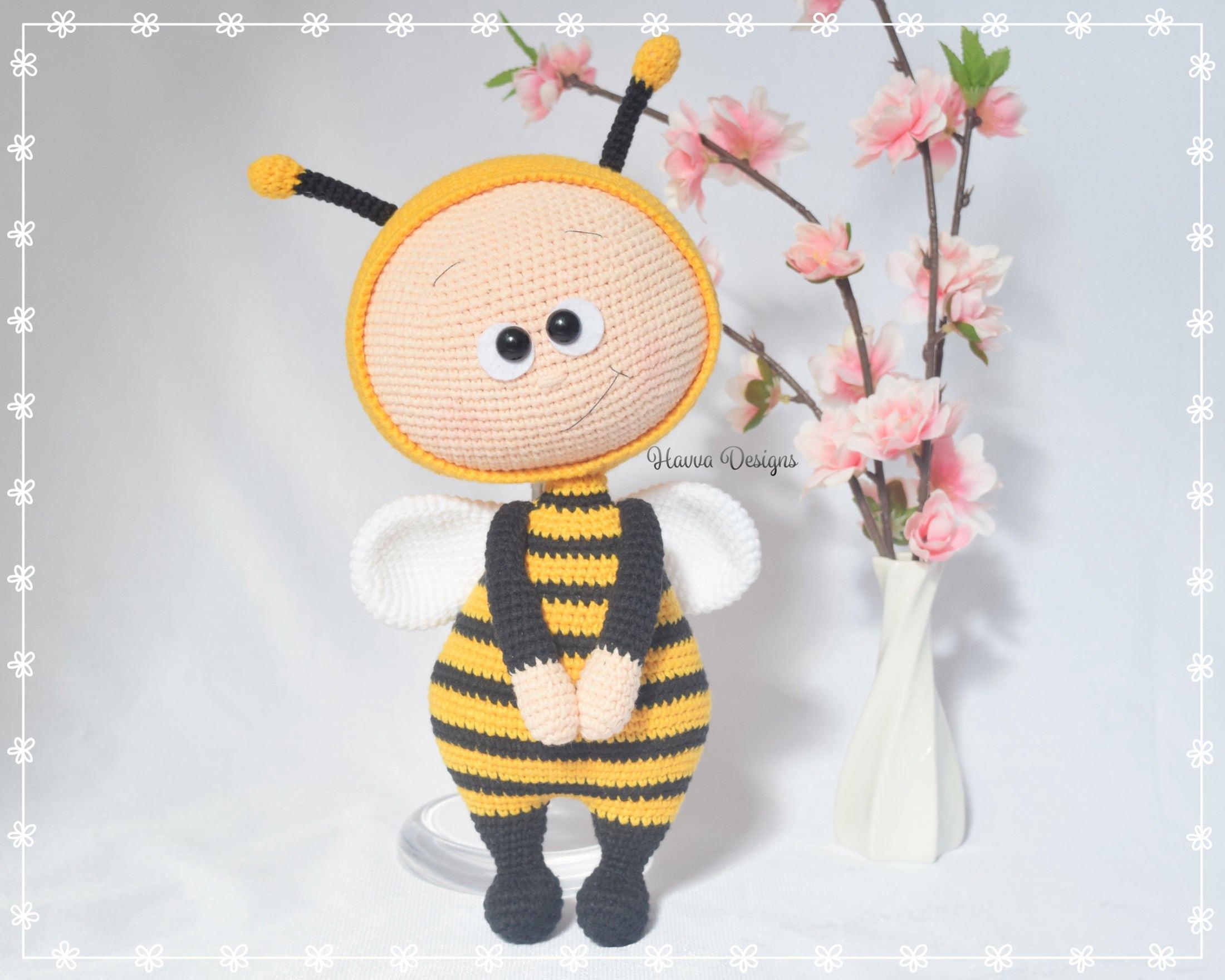 Bonnie Mit Biene Kostüm Herunterladbare Häkelanleitung Etsy