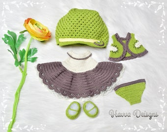 Crochet Pattern - Mia's Kiwi Clothes