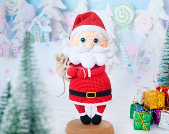 Santa Claus Amigurumi Pattern - CROCHET Santa PATTERN