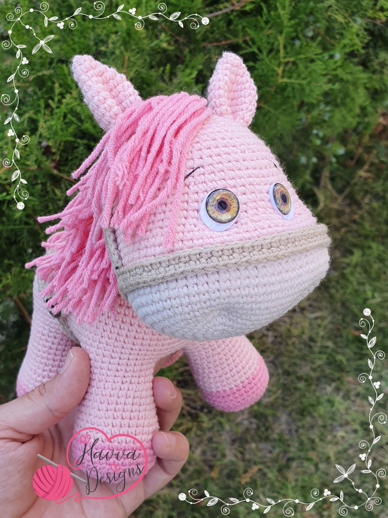 tutorial amigurumi little pony for beginners free pattern part 1 ... | 1059x794