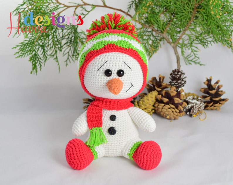 Cute Bonnie Reindeer Doll Crochet Pattern By HavvaDesigns© No.1 | 630x794