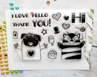 Hello You! Clear Stamp Set