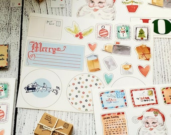 Airmail Letters to Santa 4 Sheet Sticker Pack