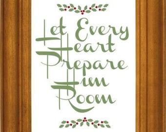 Christmas Prints Set 5 Scripture Prints Digital Download Bible Verse Print Christmas Gift Wall Art Christian Pack