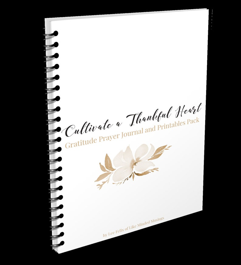 Gratitude Prayer Journal and Bible Study Cultivate a Thankful image 0