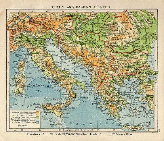 Cartina Antica Sardegna.Mappa Italia Antica Roma