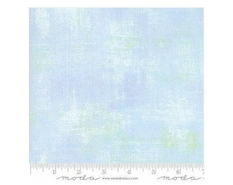 Moda Fabrics Grunge Texture New Colors 2017~ Clear Water Blue Cotton Fabric