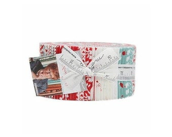 Love You! Jelly Roll From Moda - 40 - 2.5in Cotton Strips