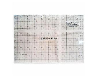 Bloc Loc ~Strip Set Ruler 7 x 10 Acrylic Ruler