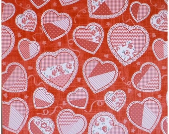 Hugs And Kisses Valentine By Studio E~ Cotton Fabric
