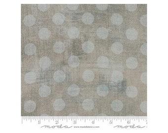 Moda Fabrics Grunge Texture Basics Hits The Spot ~Gris-Gray Cotton Fabric