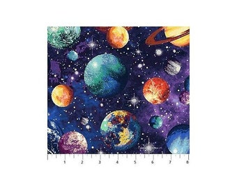 Northcott - Out Of This World, Space - Cotton Fabric