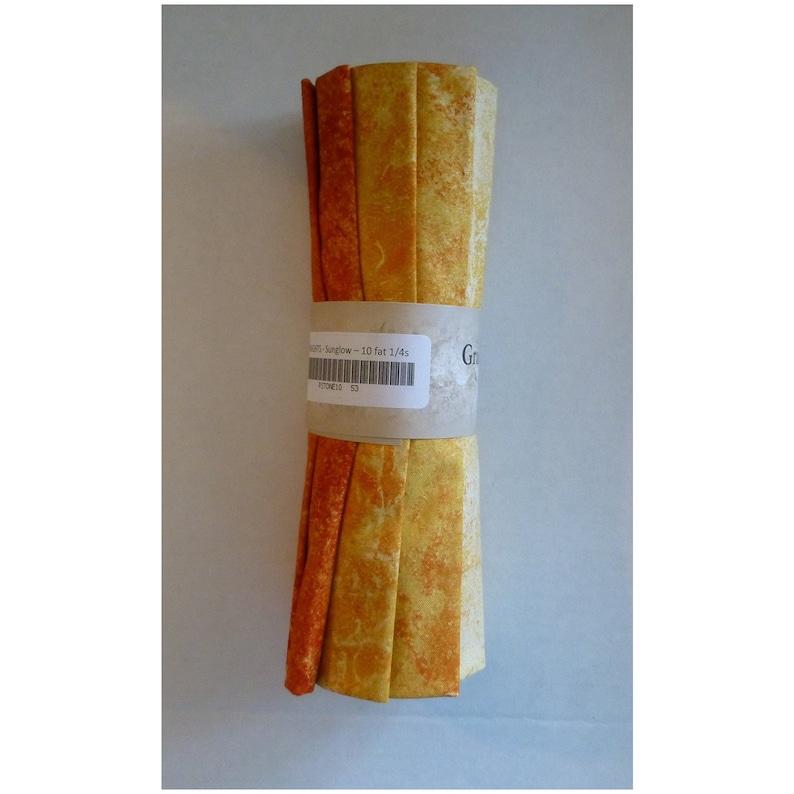 Stonehenge Gradations ~sunglow Brights Rstone10-53~fat Quarter Roll Northcott~10 Fat Qtrs