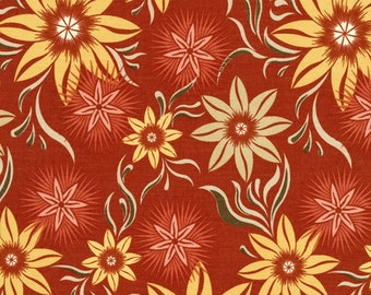Judy Niemeyer~Desert Rose Collection  Sunset Cotton Fabric by Timeless Treasures