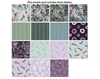 Essence Of Pearl Purple Jelly Roll By Benartex 40 2 1/2in Strips