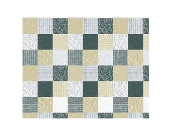 Catnip~Patchwork Cotton Fabric By Gingiber For Moda