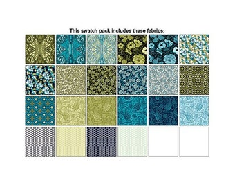 Chelsea By Dover Hill Studio Charm Pack 42 5-inch Squares Forbenartex