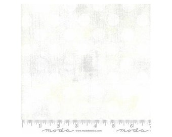Moda Fabrics Grunge Texture Basics Hits The Spot ~Eggshell Cotton Fabric