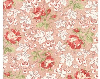 Victoria Rouge Kensington Cotton Fabric By Moda