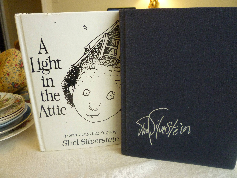 Two Books Falling Up Poemsdrawings Screaming Etsy