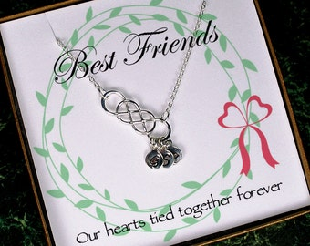 friendship necklace best friend necklace best friend gift long distance friendship best friend birthday gift best friend christmas gift