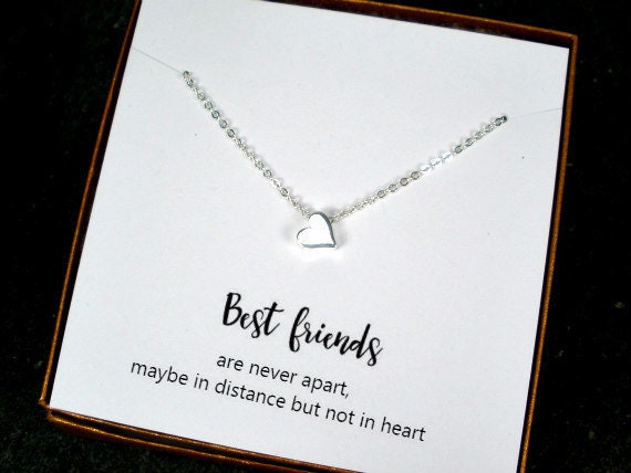 Best Friend Gift Jewelry Long Distance