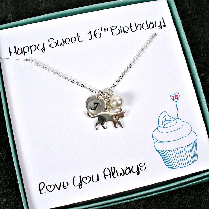 Sweet 16 Necklace Gifts Girls 16th Birthday Gift