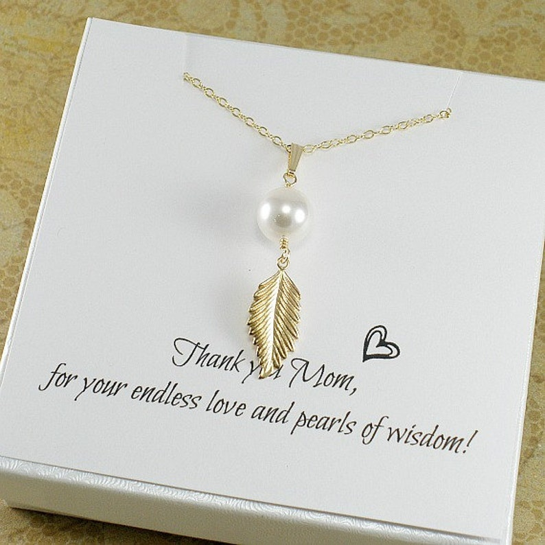 Mothers Day Gifts Mom Birthday Gift Necklace