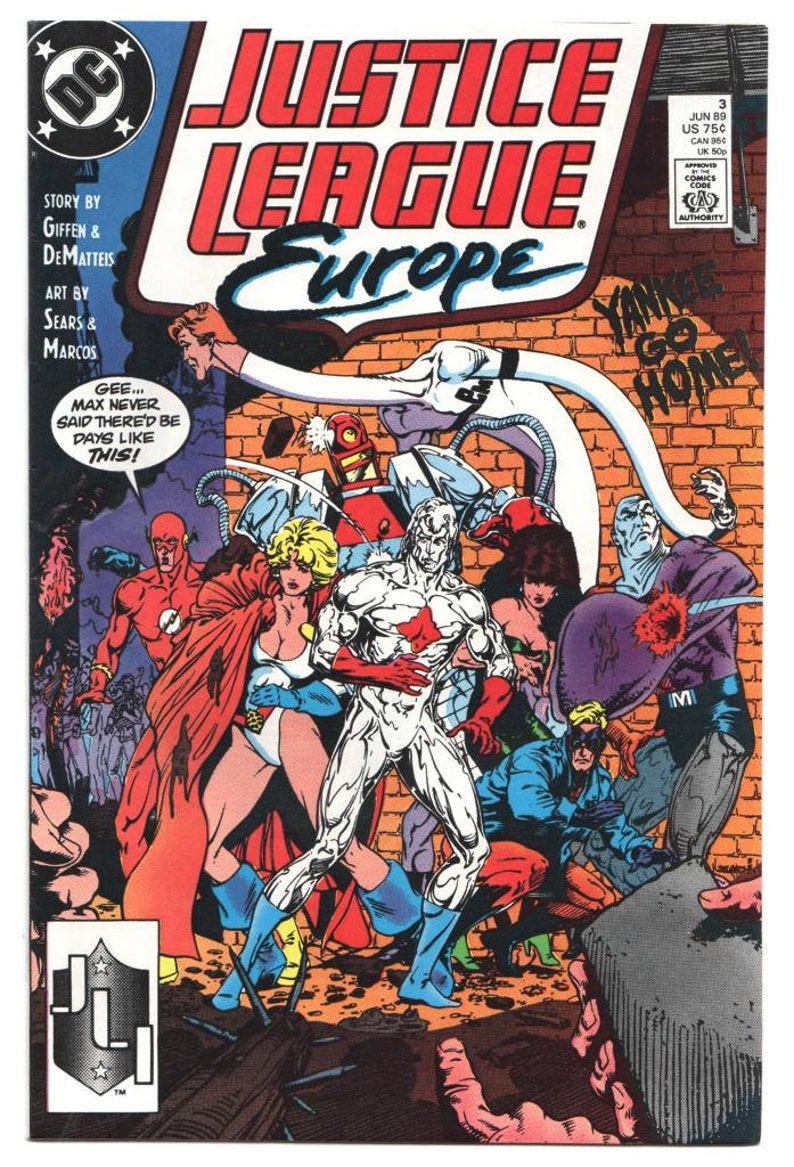 Justice League Europe - Issue's 3 4 5 40 - 1989 1992 - Copper Modern - NM -  U-PICK - Priced Each - Dc Comics